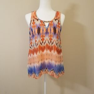 by&by sleeveless blouse size M